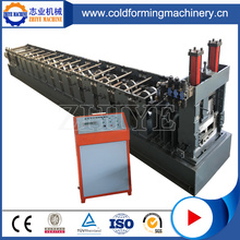 Colored Steel PLC Z Purling Cold Forming Machinery