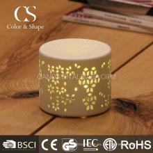 La lámpara de mesa recargable tallada interior moderna llevó la lámpara de mesa