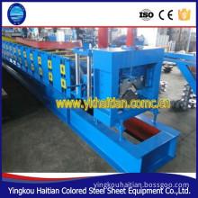 Galvanized Steel Ridge Cap Tile Cold Roll Forming Machine metal profile machine