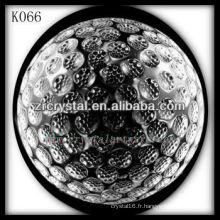 belle boule de cristal k9 K066