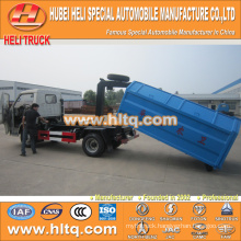 4X2 FOTON FORLAND 4.5 cubic 98hp garbage collecting truck with high quality and inexpensive in China