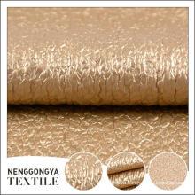 Высокое качество различные виды красивых синель ткань PU покрытием