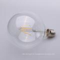 El filamento recto de 4w 6w 8w Dimmable LED E27 borra 80m m 95m m 125m m G80 G95 G125