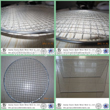 iron plate round stainless steel cooking grates