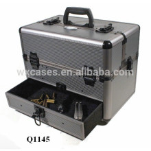 strong aluminum shotgun gun case with custom foam insert&drawer manufacturer