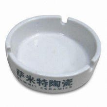 Ashtray, Customized Designs are Welcome, Made of Melamine Material