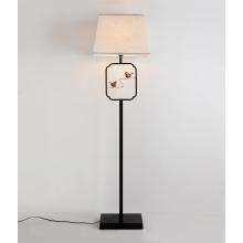Классическая деревянная лампа для чтения