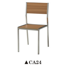 Bentwood Dining Chair with Stainless Steel Leg
