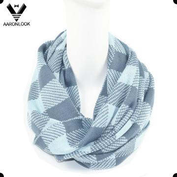 Calzoncillos de moda Jacquard Grid Pattern Neck Warmer