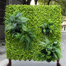 Outdoor garden decorative artificial foliage panel