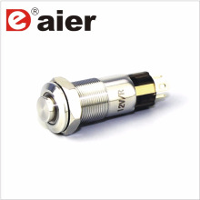 10mm High Button Ring Lamp Illuminated Metal Push Button