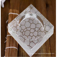 China Cenicero cristal grabado profundo caliente para la decoración o el regalo