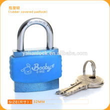 Top Quality! ! Rubber Cover Aluminum Padlock