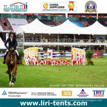 Liri High Quality Large Outdoor Double Decker Tent with High Peak Roof for 2015 Beijing Longines Equestrianism Masters