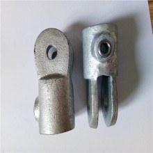 Malleable galvanized pipe fittings and key clamps
