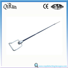 Máy dò mẫu Smelting Impler Handle Lance