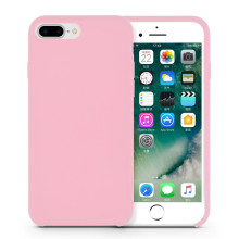 Venta al por mayor Pink Liquid Silicone Rubber Iphone8 Case