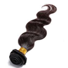 pelo tejer virginal peruano al por mayor del pelo, onda natural del cuerpo del color pelo virginal del peruano del 100%
