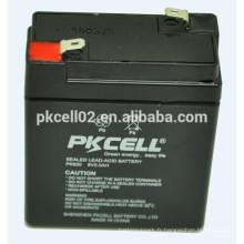 Batterie profonde de cycle de batterie d'UPS batterie élevée 6v 2ah PKCELL
