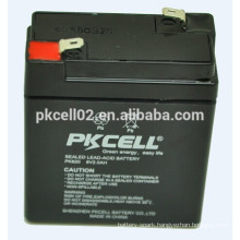 UPS Battery Deep cycle battery High rate Battery 6v 2ah PKCELL