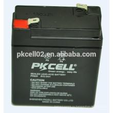 UPS батареи глубокого цикла батареи, Высокая скорость батареи 6V 2ah PKCELL