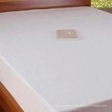 Protecteur de matelas imperméable 100% coton Terry (DPF10155)