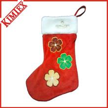 Kundenspezifische Promotion Stickerei Günstige Weihnachten Socken