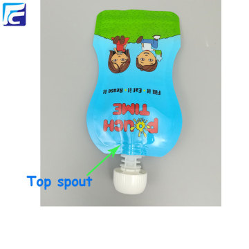 BPA free baby food pouches spout pouch bags