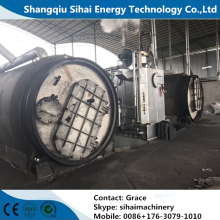 Plastic To Diesel Pyrolysis Equipment With 2 Years Warranty