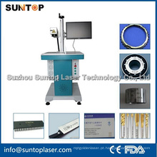 Gold-Plated máquina de marcação a laser do metal / máquina de impressão a laser