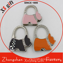 Пользовательские собака Shaped Metal Bag Hanger