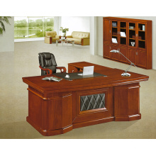 Reddish brown MDFbig size wood office table