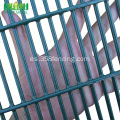 PVC recubierto de seguridad Metal Anti escalada 358 valla