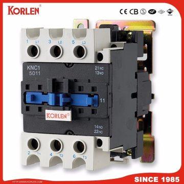 Контактор переменного тока типа Cjx2 Korlen с выключателем CE