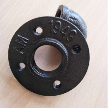 Industrial floor flange for paper holder