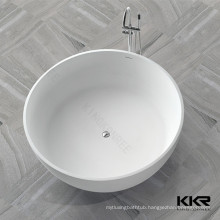 Classic bowl bath tub for baby/artificial stone bath tubs/solid surface sanitary ware bathtub on sale
