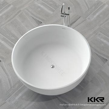Baignoire classique de baignoire pour bébé / baignoire en pierre artificielle / baignoire en acier inoxydable de surface solide disponibles à la vente