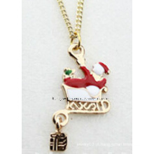 Jóias de natal / natal colar / pingentes de natal (xjw13353)