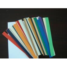 Cinta de alta calidad de las bandas de borde del PVC en los muebles, cinta de borde de grano de madera