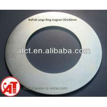 Imán de neodimio anillo fino y grande diámetro