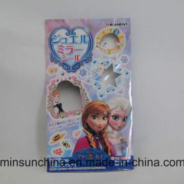 La impresión de encargo se levanta la bolsa plástica del embalaje para los juguetes de los niños
