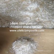Fibra de vidrio Fibra de vidrio cortada de 18mm para GRP