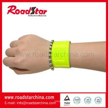 Bracelets réfléchissants échantillon gratuit haute luminosité
