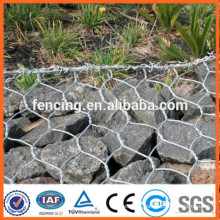1*1*1m hot dipped galvanized hexagonal wire mesh gabion box