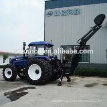 Attachement de rétrocaveuse de tracteur de LW-12