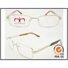 Nuevo marco óptico vendedor caliente del metal del capítulo de Eyewear (WFM501008)