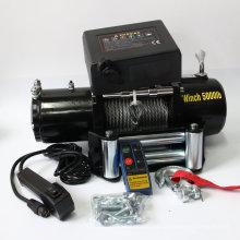 CE aprovado 5000LB SUV / Jeep / caminhão 4WD guincho / guincho elétrico / guincho de automóvel / guincho elétrico do caminhão