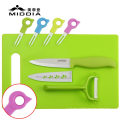 Ceramic Tableware for Knife+Peeler+Forks+Chopping for Tableware