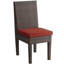 Garten im Innenhof Wicker Gartenmöbel Rattan Dining Stack Chair