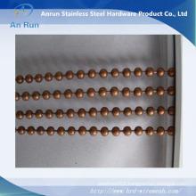 Hanging Decorative Metal Ball Beads Chain Door/Window Curtain